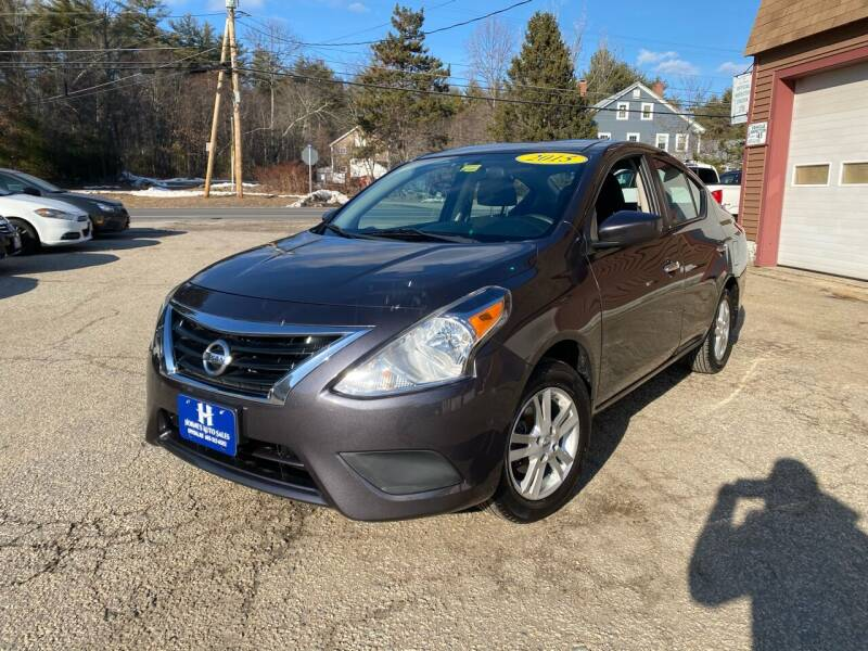 2015 Nissan Versa for sale at Hornes Auto Sales LLC in Epping NH