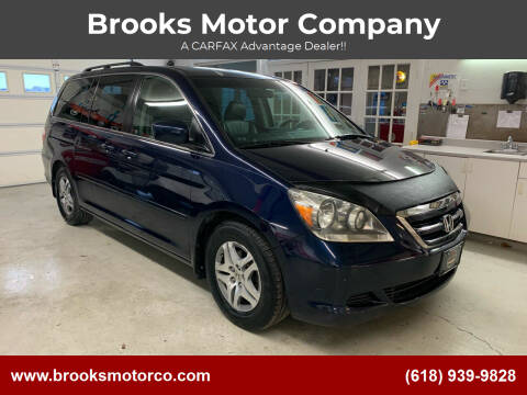 2007 Honda Odyssey for sale at Brooks Motor Company in Columbia IL