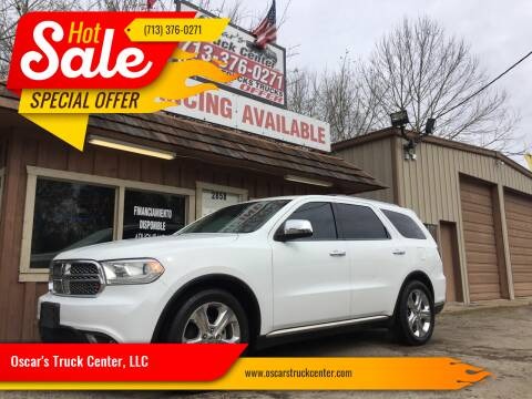 2015 Dodge Durango for sale at Oscar's Truck Center, LLC in Houston TX