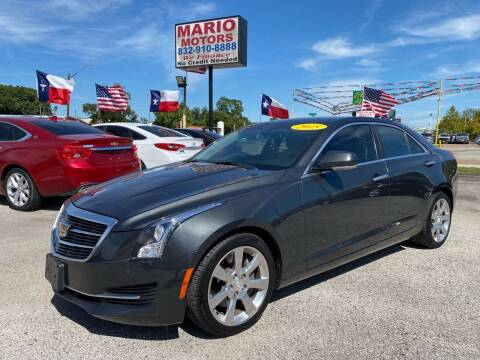 2015 Cadillac ATS for sale at Mario Motors in South Houston TX