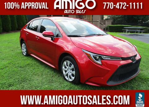 2021 Toyota Corolla for sale at Amigo Auto Sales in Marietta GA