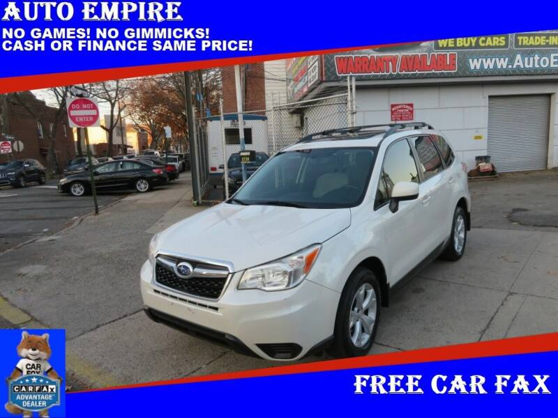2015 Subaru Forester for sale at Auto Empire in Brooklyn NY