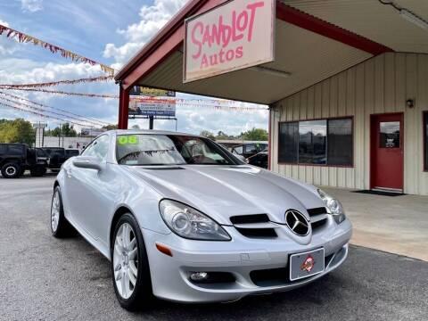 2008 Mercedes-Benz SLK for sale at Sandlot Autos in Tyler TX