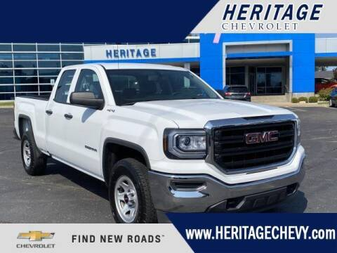2018 GMC Sierra 1500 for sale at HERITAGE CHEVROLET INC in Creek MI