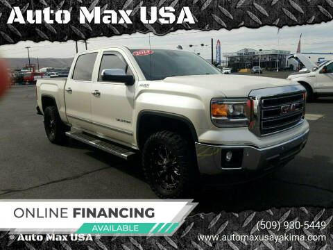 2014 GMC Sierra 1500 for sale at Auto Max USA in Yakima WA