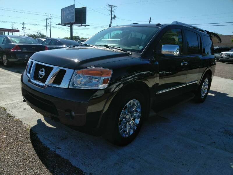 2015 Nissan Armada for sale at 2nd Chance Auto Sales in Montgomery AL