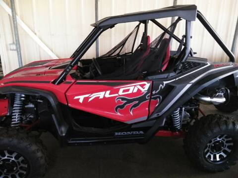 2020 Honda Talon 1000 X for sale at Irv Thomas Honda Suzuki Polaris in Corpus Christi TX