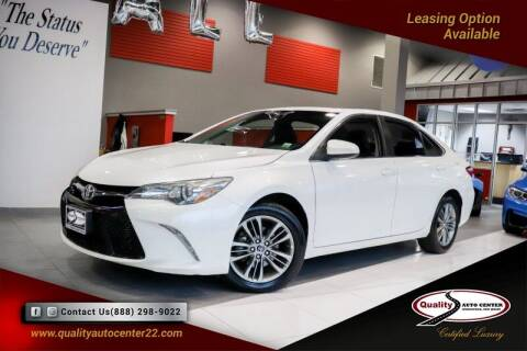 2015 Toyota Camry for sale at Quality Auto Center in Springfield NJ
