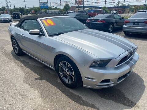 2014 Ford Mustang for sale at HALEMAN AUTO SALES in San Antonio TX