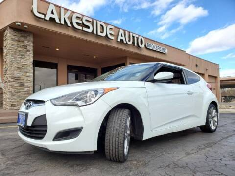 2016 Hyundai Veloster for sale at Lakeside Auto Brokers in Colorado Springs CO