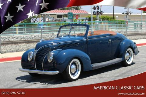 1938 Ford Deluxe for sale at American Classic Cars in La Verne CA