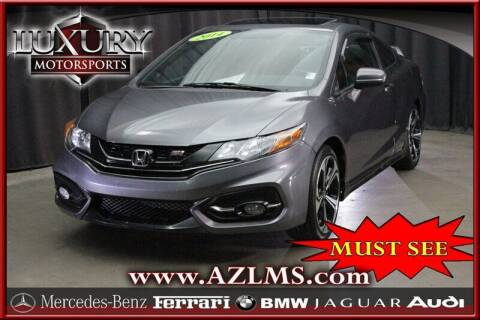 2014 Honda Civic for sale at Luxury Motorsports in Phoenix AZ