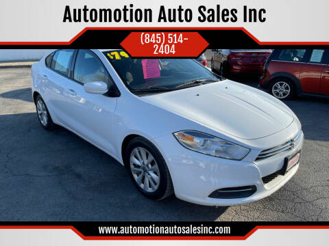 2015 Dodge Dart for sale at Automotion Auto Sales Inc in Kingston NY
