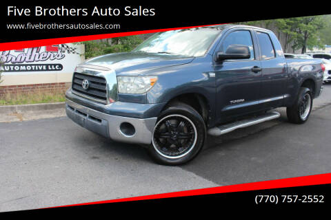 2007 Toyota Tundra for sale at Five Brothers Auto Sales in Roswell GA