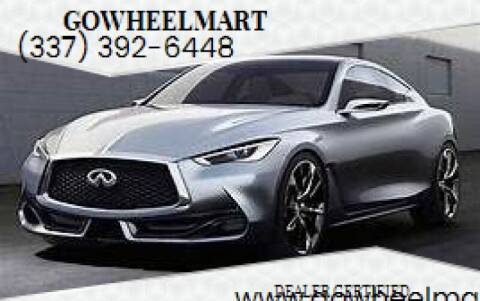 2018 Infiniti Q60 for sale at GOWHEELMART in Available In LA