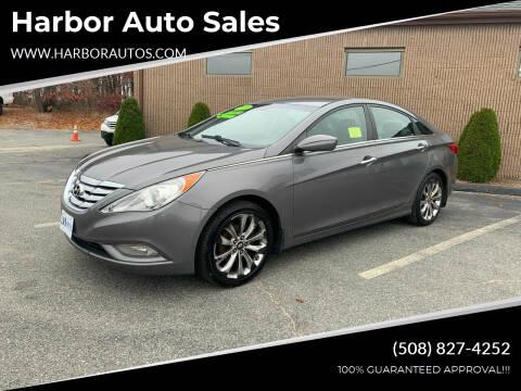 2011 Hyundai Sonata for sale at Harbor Auto Sales in Hyannis MA