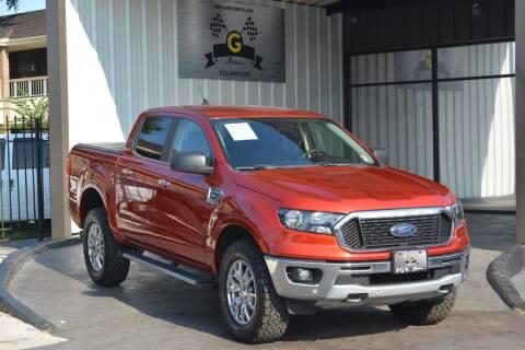 2019 Ford Ranger for sale at G MOTORS in Houston TX