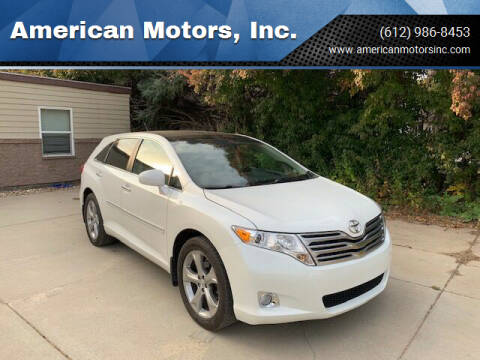 2009 Toyota Venza for sale at American Motors, Inc. in Farmington MN