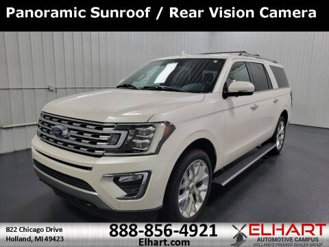 2018 Ford Expedition MAX for sale at Elhart Automotive Campus in Holland MI