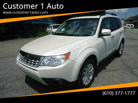 2013 Subaru Forester for sale at Customer 1 Auto in Lehighton PA