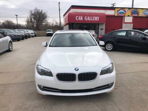2013 BMW 5 Series for sale at Car Gallery in Oklahoma City OK