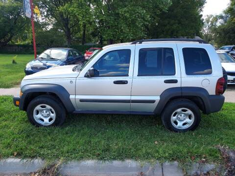 2007 Jeep Liberty for sale at D & D Auto Sales in Topeka KS