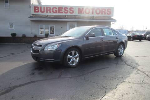 2010 Chevrolet Malibu for sale at Burgess Motors Inc in Michigan City IN