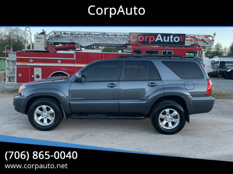 2009 Toyota 4Runner for sale at CorpAuto in Cleveland GA