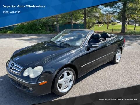 2006 Mercedes-Benz CLK for sale at Superior Auto Wholesalers in Burlington NJ