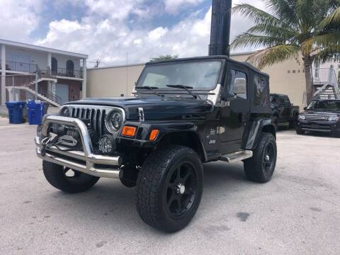 2003 Jeep Wrangler for sale at Florida Cool Cars in Fort Lauderdale FL