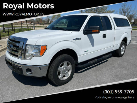 2011 Ford F-150 for sale at Royal Motors in Hyattsville MD