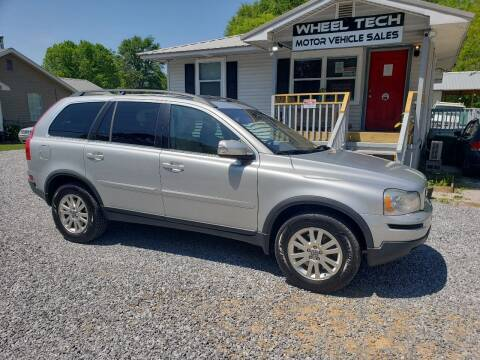 2008 Volvo XC90 for sale at Wheel Tech Motor Vehicle Sales in Maylene AL