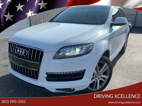 2015 Audi Q7 for sale at Driving Xcellence in Jeffersonville IN