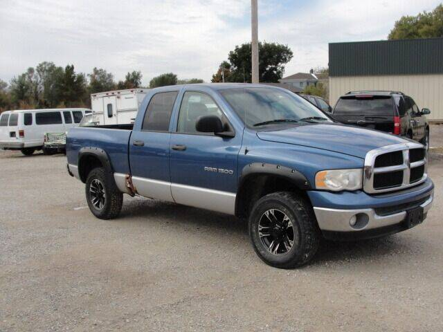 2004 Dodge Ram Pickup 1500 for sale at Frieling Auto Sales in Manhattan KS