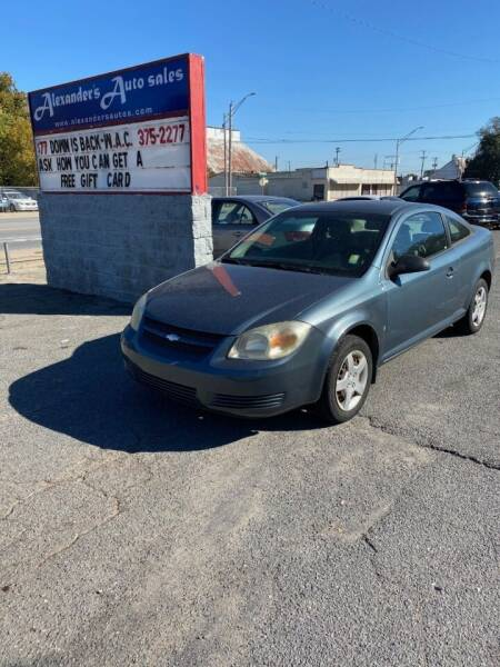 2007 Chevrolet Cobalt for sale at Alexander's Auto Sales in North Little Rock AR