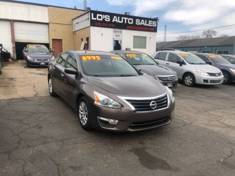 2014 Nissan Altima for sale at Lo's Auto Sales in Cincinnati OH