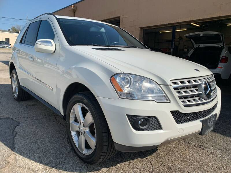 2010 Mercedes-Benz M-Class for sale at Martys Auto Sales in Decatur IL