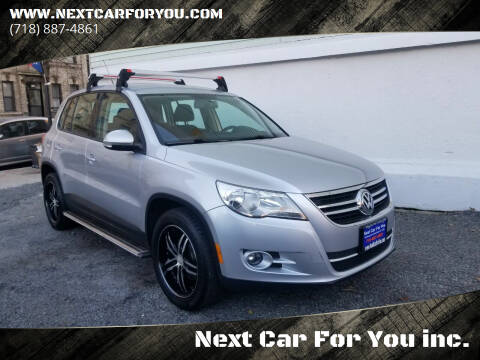 2010 Volkswagen Tiguan for sale at Next Car For You inc. in Brooklyn NY