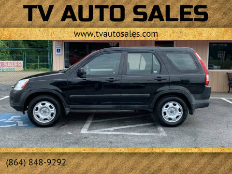 2005 Honda CR-V for sale at TV Auto Sales in Greer SC