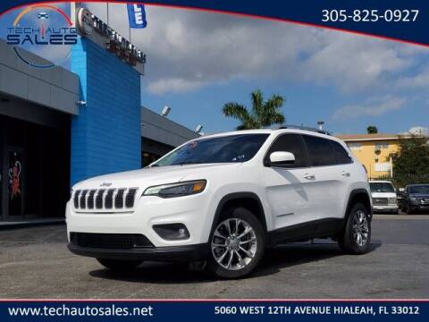 2019 Jeep Cherokee for sale at Tech Auto Sales in Hialeah FL