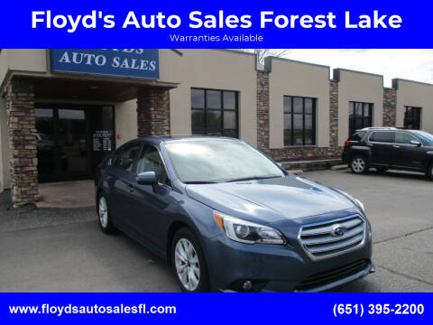 2017 Subaru Legacy for sale at Floyd's Auto Sales Forest Lake in Forest Lake MN