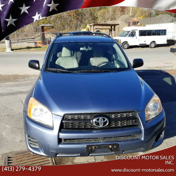 2009 Toyota RAV4 for sale at Discount Motor Sales inc. in Ludlow MA