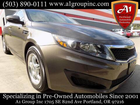 2011 Kia Optima for sale at A1 Group Inc in Portland OR