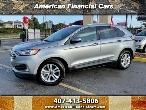 2020 Ford Edge for sale at American Financial Cars in Orlando FL