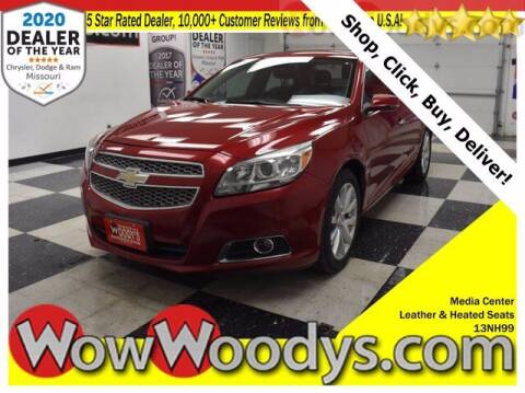 2013 Chevrolet Malibu for sale at WOODY'S AUTOMOTIVE GROUP in Chillicothe MO