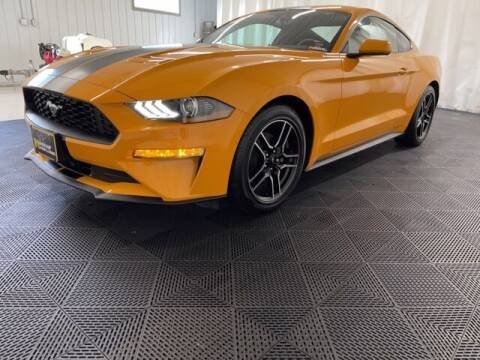 2018 Ford Mustang for sale at Monster Motors in Michigan Center MI