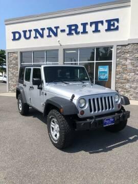 2009 Jeep Wrangler Unlimited for sale at Dunn-Rite Auto Group in Kilmarnock VA