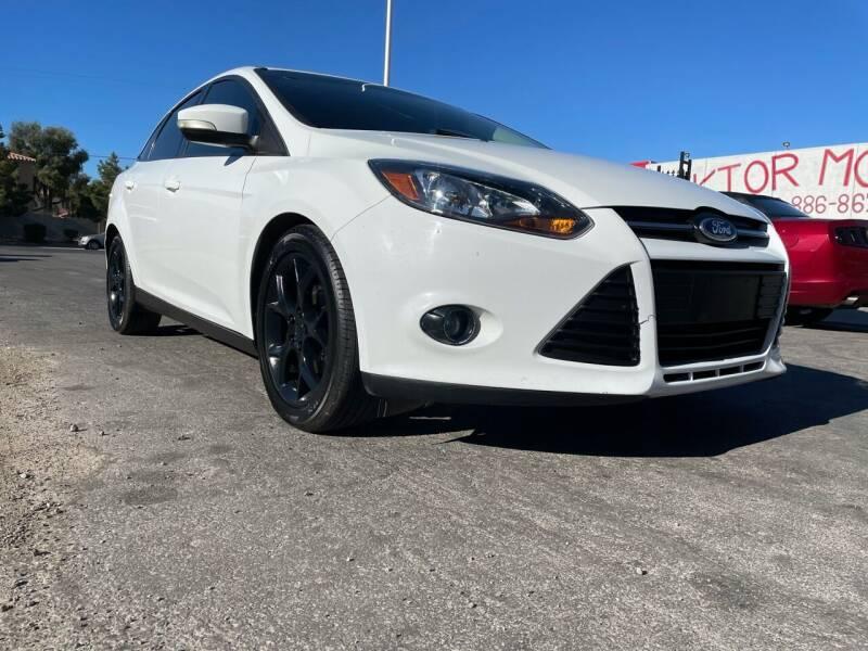 2014 Ford Focus for sale at Boktor Motors in Las Vegas NV