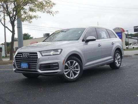 2018 Audi Q7 for sale at BASNEY HONDA in Mishawaka IN
