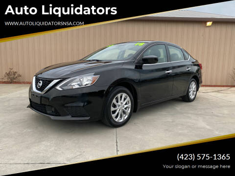 2018 Nissan Sentra for sale at Auto Liquidators in Bluff City TN